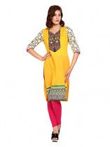 Fabnesia Women's Kurtas at Flat Rs 215 (87% OFF) on Amazon