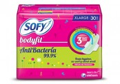 Sofy Bodyfit Anti Bacteria – 30 Count for Rs 136 (46% off)